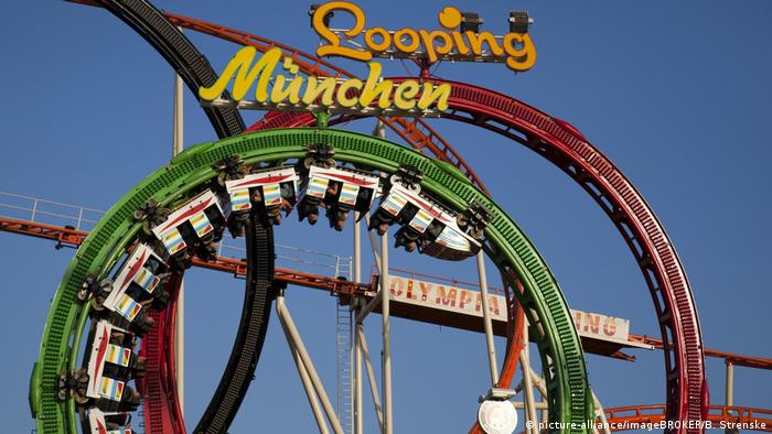 view of a roller coaster (picture-alliance/imageBROKER/B. Strenske)