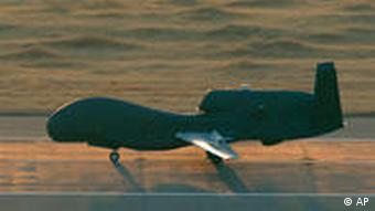 US army Unmanned Aerial Vehicle (UAV) drone