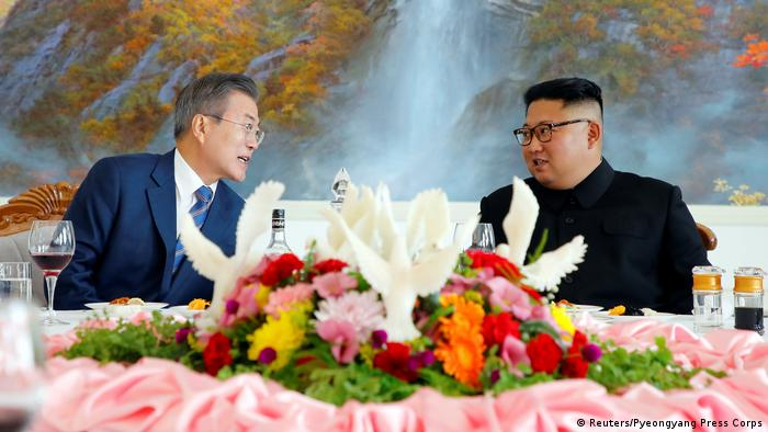 Nordkorea - Korea-Gipfel in Pjöngjang: Kim Jong Un trifft Moon Jae-In (Reuters/Pyeongyang Press Corps)