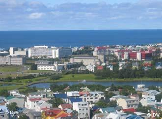 A scenic view of Reykjavik