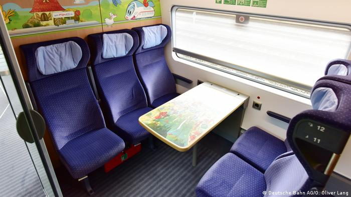 Familienabteil in einem ICE (Deutsche Bahn AG/O. Oliver Lang)