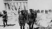 Griechenland Brauchitsch auf Akropolis Mai 1941