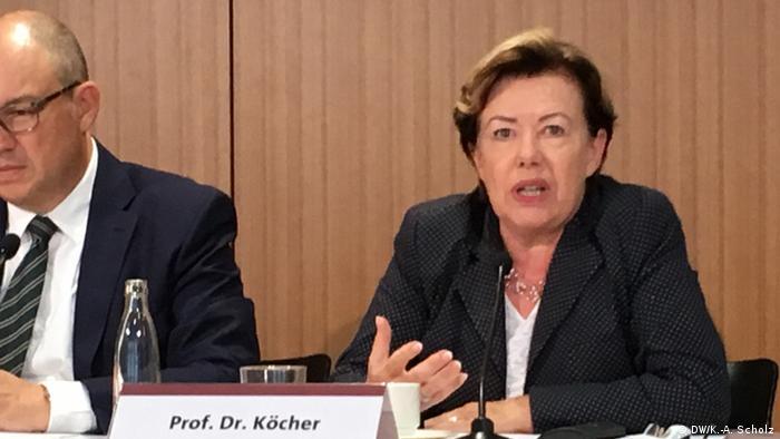Renate Köcher, Chefin des Insituts für Demoskopie Allensbach