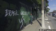 A swastika painted on a wall in Sao Paulo (Imago/Fotoarena)