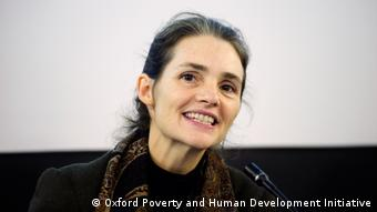 Sabina Alkire, Director of the Oxford Poverty and Human Development Initiative (OPHI)