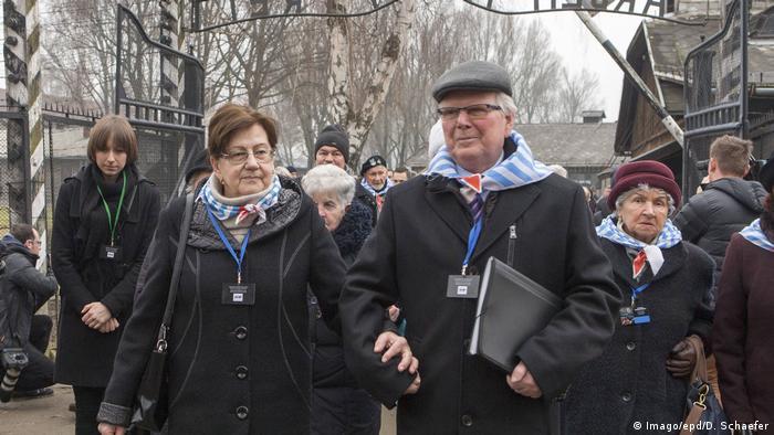 Roman Hercog u Aušvicu na 73. godišnjicu oslobođenja zloglasnog nacističkog logora