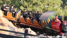 USA Florida - Disney World Big Thunder Mountain Railroad