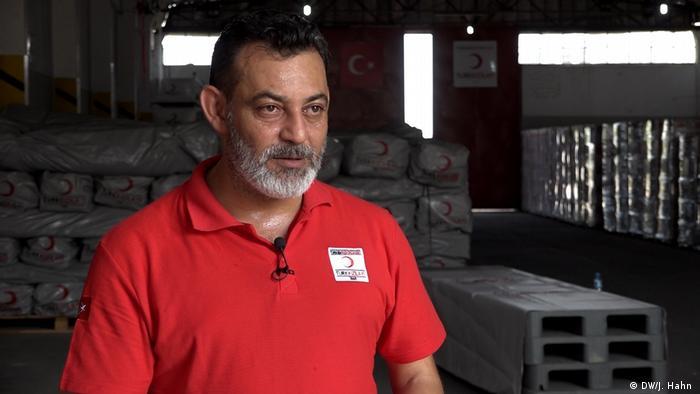 Türkei Abdulmajid Al-Halabi, 2012 aus Idlib in die Türkei geflohen: Kadir Akgündüz
