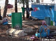 Табір біженців, які втекли з сирійського Ідлібу до Туреччини