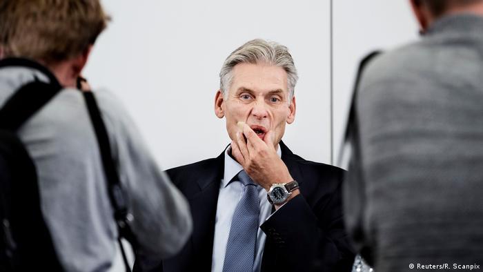Thomas Borgen, resigned CEO of Danske Bank