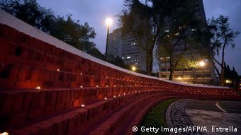 Mexiko - Gedenkveranstaltung für die Erdbebenopfer