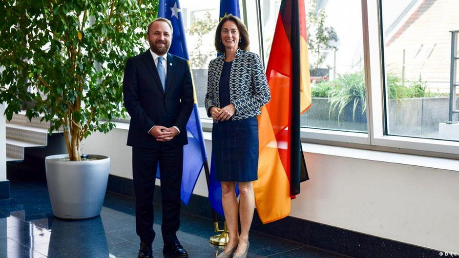 Gjermania e mbështet Kosovën për forcimin e shtetit ligjor