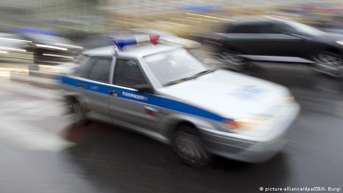 Автомобиль российской полиции (фото из архива)
