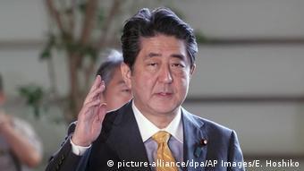 Shinzo Abe (picture-alliance/dpa/AP Images/E. Hoshiko)