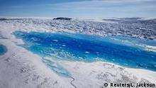 Grönland Klimaforschung am Helheim Gletscher