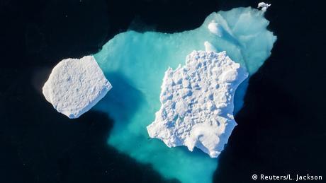 Grönland Klimaforschung am Helheim Gletscher (Reuters/L. Jackson)