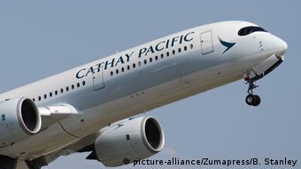 Airbus der Fluggesellschaft Cathay Pacific Airways (picture-alliance/Zumapress/B. Stanley)