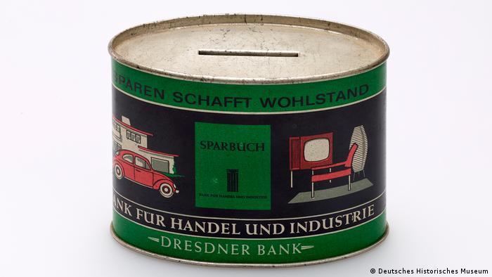 Blech Spardose (Deutsches Historisches Museum)