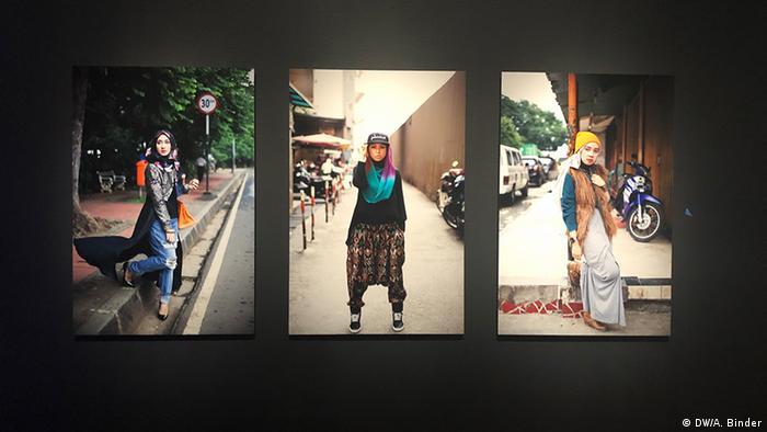 Modebilder auf Instagram (DW/A. Binder)