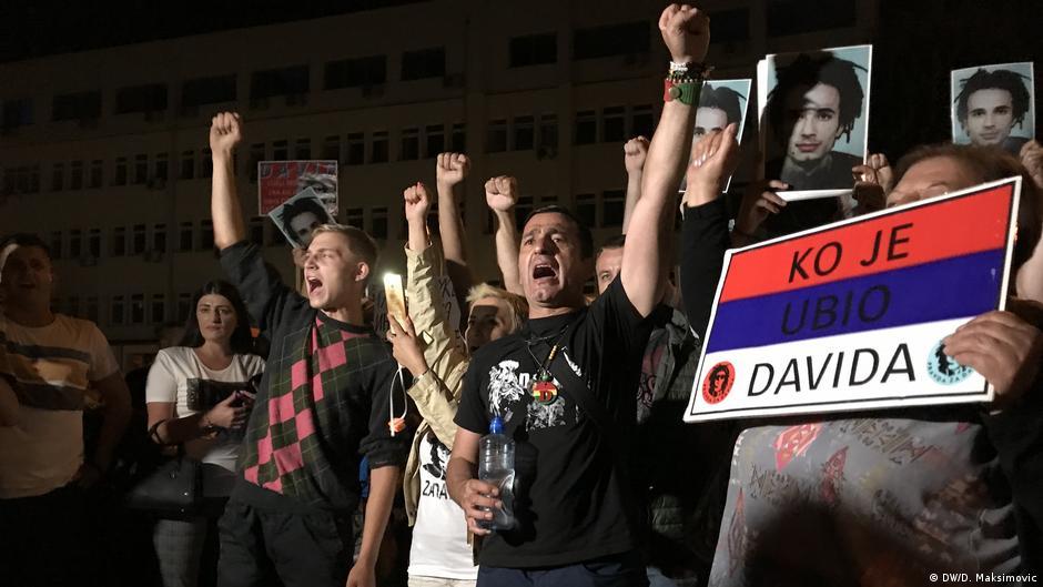 Protests before Bosnia-Herzegovina Votes