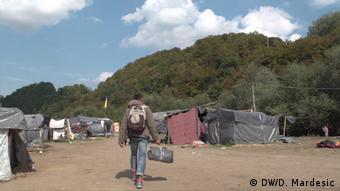 O προσφυγικός καταυλισμός της Βέλικα Κλαντούσα