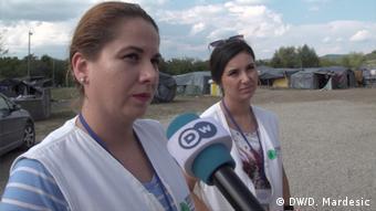 Flüchtlingslager Velika Kladusa (DW/D. Mardesic)