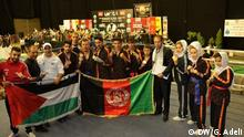 Afghanisches Martial Arts Team