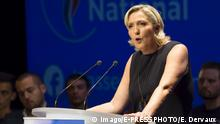 Frankreich Marine Le Pen