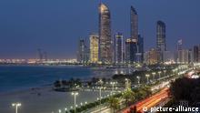 Skyline, Abu Dhabi, Vereinigte Arabische Emirate