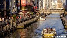 Dotonbori, Osaka, Kansai region, Honshu island, Japan, Asia | Verwendung weltweit, Keine Weitergabe an Wiederverkäufer.