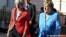 Österreich, Salzburg, Gipfel, May, Merkel