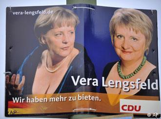 Знайдіть 10 відмінностей: Меркель - ліворуч, Ленґсфельд - праворуч.
