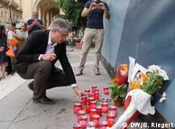 Акція вшанування памяті загиблої журналістки Дафни Галіції у Валетті