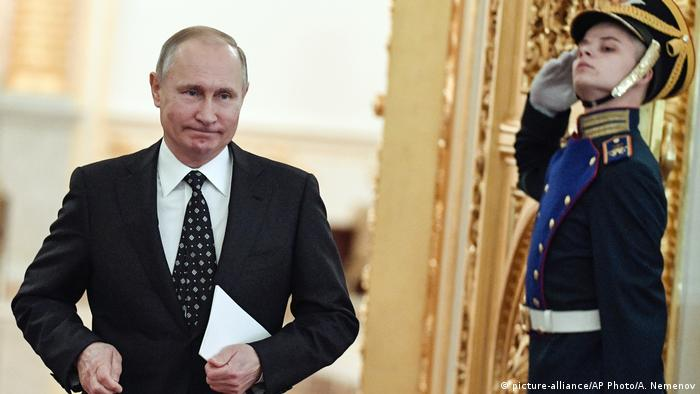 Russland Wladimir Putin (picture-alliance/AP Photo/A. Nemenov)