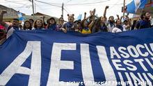 Guatemala Protest gegen Jimmy Morales