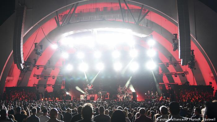 USA Los Angeles Hollywood Bowl (picture-alliance/AP Photo/R. Shotwell)