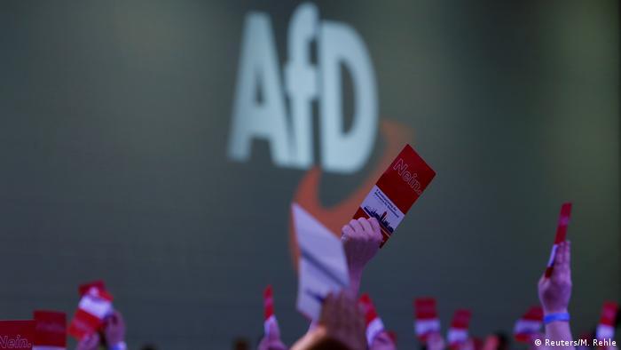 O partido populista de direita Alternativa para a Alemanha (AfD)