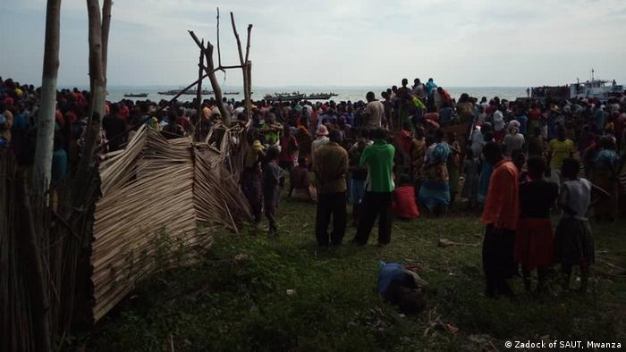 Resultado de imagen para 126 muertos en un naufragio en el lago Victoria en Tanzania