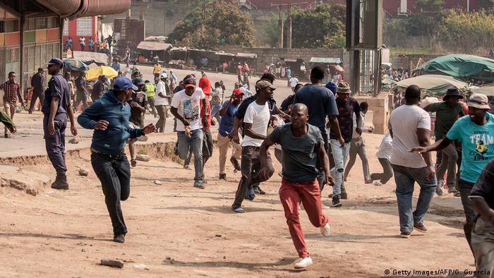 Swasiland - Königreich Eswatini   Wahl   Protest