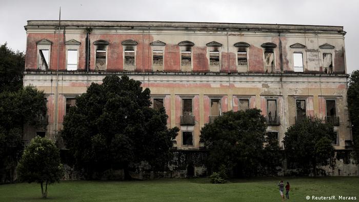 Brasilien Rio de Janeiro Nationalmuseum nach dem Brand (Reuters/R. Moraes)