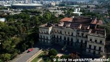 Brasilien Rio de Janeiro Nationalmuseum nach dem Brand