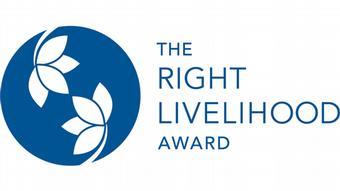 Logo The Right Livelihood Award ***SPERRFRIST 24.09.2018 um 09.00 Uhr*****