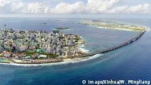 Malediven China baut Freundschaftsbrücke