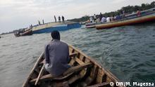 Tansania Fährunglück auf dem Victoriasee