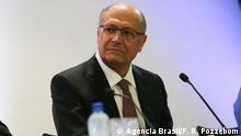Brasilien Präsidentschaftskandidat Geraldo Alckmin