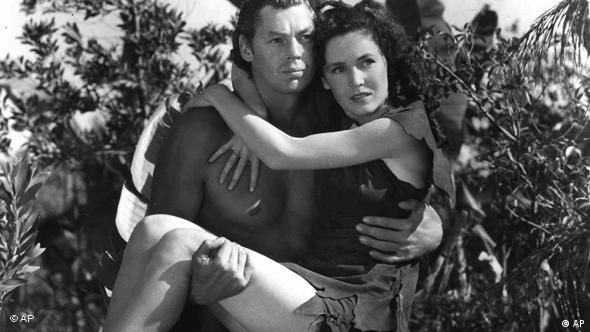 Johnny Weissmuller and Maureen O'Sullivan