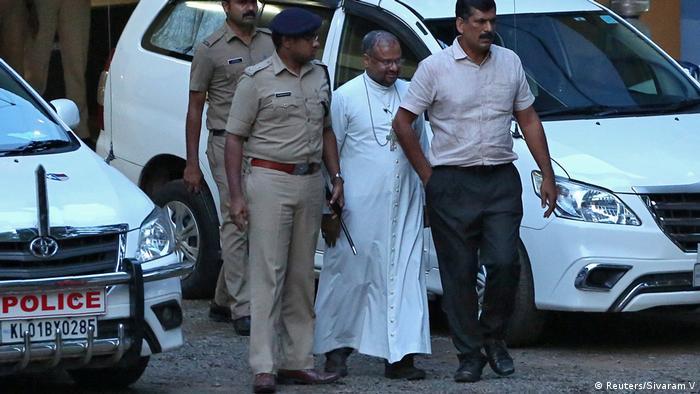 Indien Festnahme Bischoff Franco Mulakkal