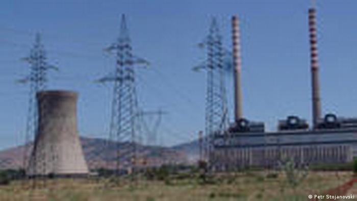 Kohlekraftwerk REK Bitola in Mazedonien (Petr Stojanovski)