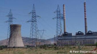 Kohlekraftwerk REK Bitola in Mazedonien