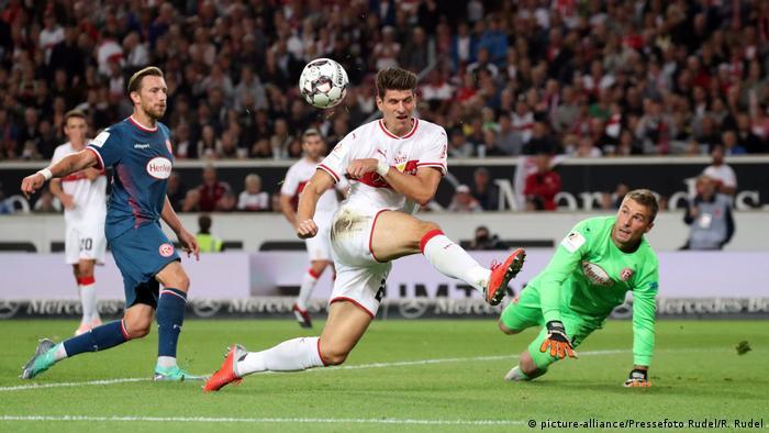 Fußball Bundesliga 4.Spieltag VfB Stuttgart vs. Fortuna Düsseldorf (picture-alliance/Pressefoto Rudel/R. Rudel)